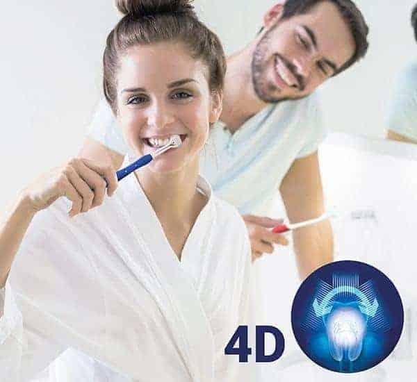 4D zahnbürste (2er pack)